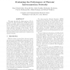 Evaluating the Performance of Photonic Interconnection Networks