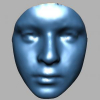 Evaluation of 3D Facial Feature Selection for Individual Facial Model Identification