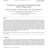Evaluation of a hierarchical reinforcement learning spoken dialogue system