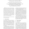 Evaluation of a Job Admission Algorithm for Bandwidth Constrained Grids