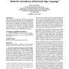 Evaluation of a psycholinguistically motivated timing model for animations of american sign language