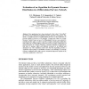 Evaluation of an Algorithm for Dynamic Resource Distribution in a Differentiated Services Network