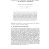 Evaluation of Community Mining Algorithms in the Presence of Attributes