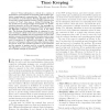 Evaluation of Kalman Filtering for Network Time Keeping