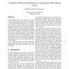 Evaluation of Rate-Based Adaptivity in Asynchronous Data Stream Joins