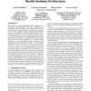Evaluation of streaming aggregation on parallel hardware architectures