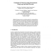 Evaluation of Virtual Learning Environments Using Logs and Social Networks