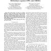 Evaluation on FPGA of triple rail logic robustness against DPA and DEMA
