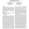 Event-Driven Electrothermal Modeling of Mixed-Signal Circuits