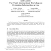 EVIA 2010: the third international workshop on evaluating information access
