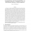 Evolution-Based Scheduling of Computations and Communications on Distributed Memory Multicomputers