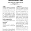 Evolution of division of labor in genetically homogenous groups