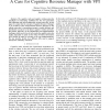 Evolution of Radio Resource Management: A Case for Cognitive Resource Manager with VPI