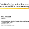 Evolution styles to the rescue of architectural evolution knowledge