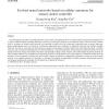Evolved neural networks based on cellular automata for sensory-motor controller