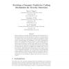 Evolving a Dynamic Predictive Coding Mechanism for Novelty Detection