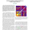 Evolving GeneChip correlation predictors on parallel graphics hardware