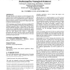 Experiences in Design and Implementation of a High Performance Transport Protocol