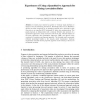 Experiences of Using a Quantitative Approach for Mining Association Rules