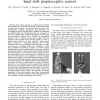 Experimental analysis of an innovative prosthetic hand with proprioceptive sensors
