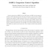 Experimental Analysis of the SABUL Congestion Control Algorithm