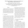 Experimental evaluation of the dynamic simulation of biped walking of humanoid robots