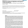 Exploiting the full power of temporal gene expression profiling through a new statistical test: Application to the analysis of m