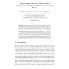 Exploring Interaction Behaviour and Performance of Online Collaborative Learning Teams