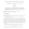 Exponential Kleisli Monoids as Eilenberg-Moore Algebras