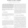Extended Monotone Methods for Hyperbolic Problems in Three Variables