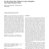 Eye Movements Show Optimal Average Anticipation with Natural Dynamic Scenes
