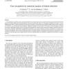 Face recognition by statistical analysis of feature detectors