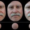 Face Relighting with Radiance Environment Maps