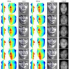 Face shape recovery from a single image using CCA mapping between tensor spaces