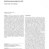 Facial movement analysis in ASL