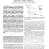 Factor graph framework for semantic video indexing
