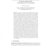 Faithful Recovery of Vector Valued Functions from Incomplete Data
