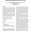 Fast and accurate resource estimation of automatically generated custom DFT IP cores