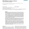 Fast computation of distance estimators