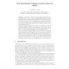 Fast Discriminant Training of Semi-continuous HMM