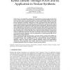 Fast Estimation of Nonparametric Kernel Density Through PDDP, and its Application in Texture Synthesis