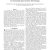 Fast Exploration of Parameterized Bus Architecture for Communication-Centric SoC Design