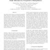 Fault Tolerance in Cooperative Manipulators