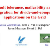 Fault-Tolerance, Malleability and Migration for Divide-and-Conquer Applications on the Grid