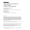 Fault Tolerant Forwarding and Optical Indexes: A Design Theory Approach