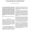 FEA and Experimental Studies of Adaptive Composite Materials with SMA Wires