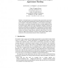 Feasibility of Optimised Disjunctive Reasoning for Approximate Matching