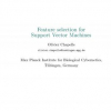 Feature Selection for Support Vector Machines