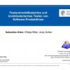 Featuremodellbasiertes und kombinatorisches Testen von Software-Produktlinien
