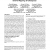 Feedback-based annotation, selection and refinement of schema mappings for dataspaces